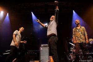 Elchin Shirinov, Avishai Cohen, Noam David performing live in Marciac
