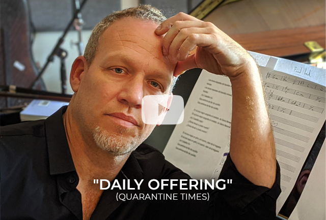 Avishai Cohen - ''Daily Offering'' (quarantine times)